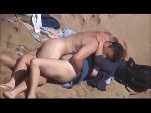Amadora dando na praia